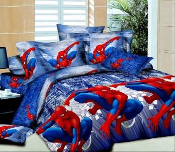 Подростковое постельное белье ТМ HomyTex Человек паук