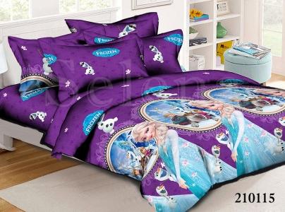 Подростковое постельное белье ТМ Selena ранфорс (210115) Холодное Сердце 2
