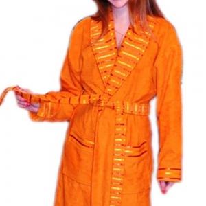 Халат махровый ТМ Mariposa оранжевый женский размер XL