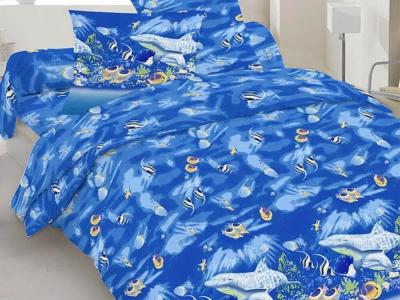 Постельное белье ТМ Novita бязь 10-0192 blue