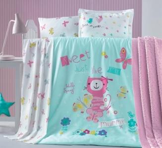 Детский постельный комплект ТМ Luoca Patisca Gatto