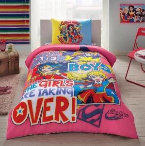 Подростковый постельный комплект ТМ TAС Super Hero Girls