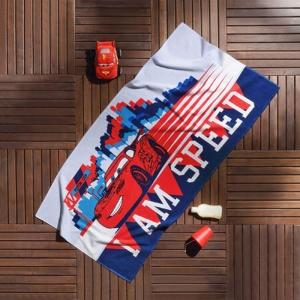 Полотенце пляжное ТМ TAC Cars Speed 75х150