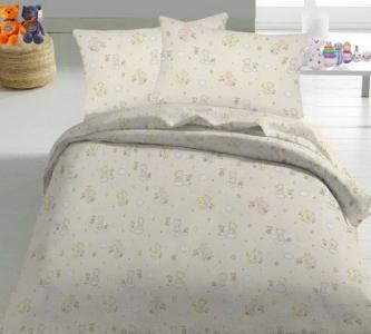 Детский постельный комплект ТМ Nostra бязь Gold 10-0214 Beige