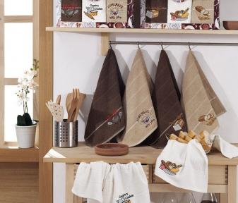 Набор полотенец кухонных ТМ Yagmur Ekmek Desen 3шт 40х70