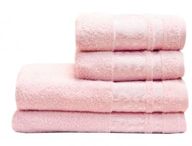 Полотенце махровое ТМ LightHouse Lale светло-розовое