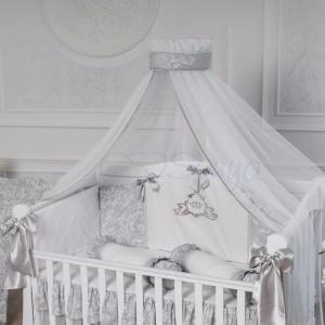 Детский набор из 7 предметов ТМ Маленькая Соня Mon belle L'collection серый