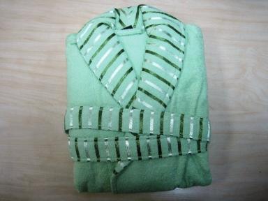 Халат махровый ТМ Mariposa салатовый женский размер XL