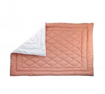 Одеяло шерстяное зимнее ТМ Руно Персиковое