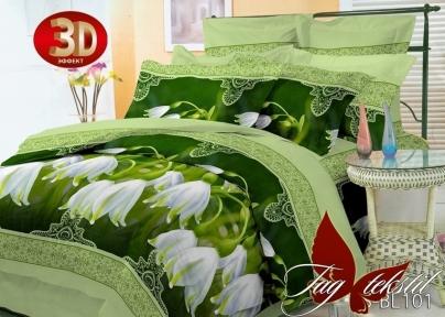 Постельное бельё ТМ TAG полисатин 3D PS-BL101