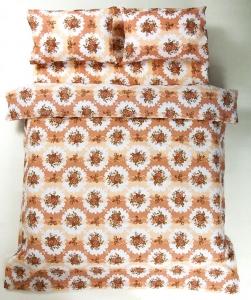 Постельное белье ранфорс ТМ Lotus Bouquet коралловое