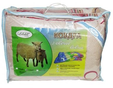 Одеяло зимнее ТМ Leleka-Textile Шерсть-економ