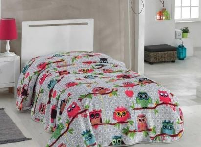 Покрывало-плед ТМ Hobby Candy розовый 155х220