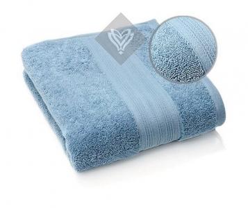 Полотенце махровое ТМ Идея Aqua Fiber джинс