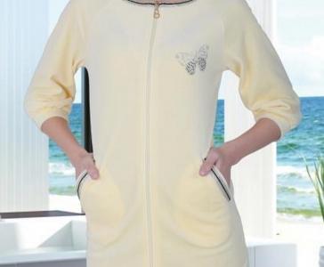 Халат велюровый ТМ Cocoon женский 12-1337 sari