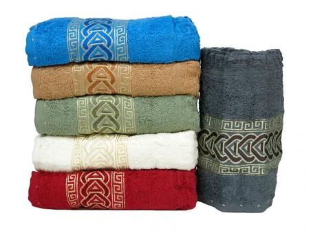Набор полотенец из хлопка ТМ Gulcan Cotton Zincir