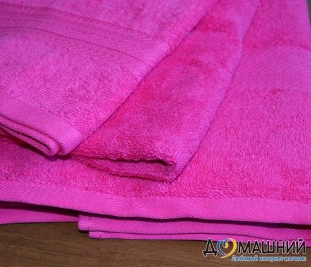 Набор полотенец 3 шт махровые ТМ Ярослав 44550 малиновые