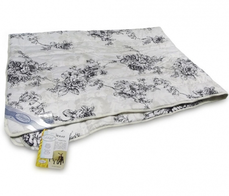 Одеяло межсезонное ТМ Leleka-Textile серого цвета
