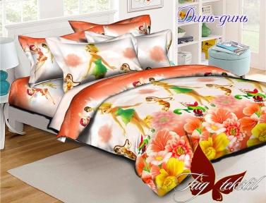 Подростковый постельный комплект ТМ TAG Динь-динь