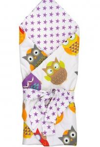 Конверт-одеяло для новорожденных ТМ Руно 957 Совы
