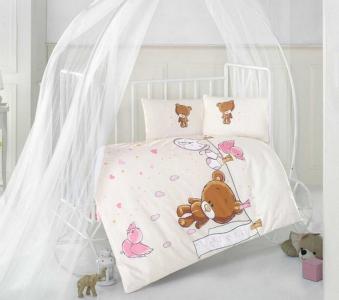 Детский постельный комплект ТМ Clasy Teddy Girl