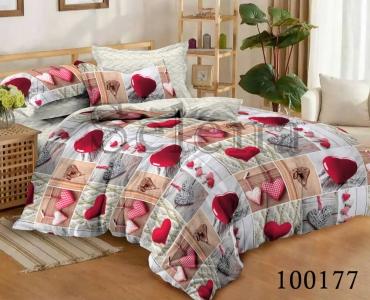 Постельное белье ТМ Selena бязь Романтическое Настроение 100177
