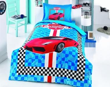 Подростковое постельное белье ТМ Gokay Red car