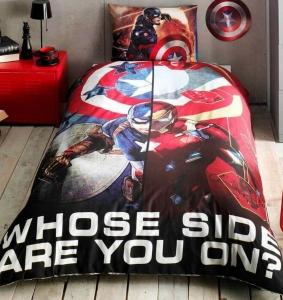Подростковый постельный комплект ТМ TAС Captain America Movie