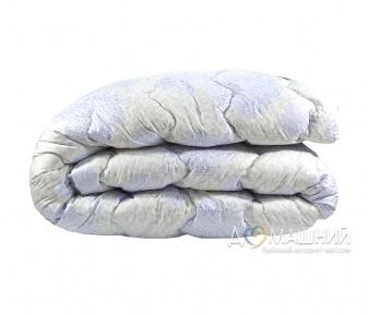 Одеяло зимнее шерстяное стеганое ТМ Vladi серебро