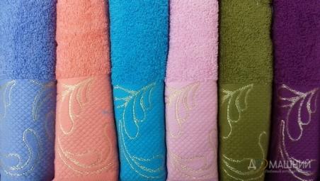 Набор махровых полотенец Turkiz Asita 6 штук