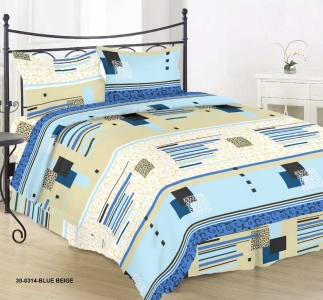 Постельное белье ТМ Nostra бязь Gold 30-0314 Blue