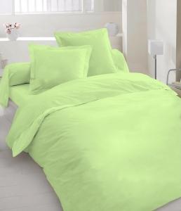 Постельное белье ТМ Nostra сатин гладкокрашеный 00-0017 Shadow Lime Active