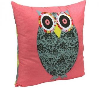 Подушка ТМ Руно декоративная Owl Grey