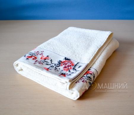 Махровые полотенца ТМ Ярослав с вышивкой Лайт