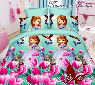 Подростковый постельный комплект ТМ TAG ранфорс Принцесса София
