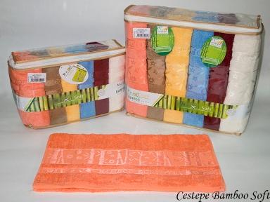 Набор полотенец из 6 штук Cestepe maxisoft Bamboo Soft