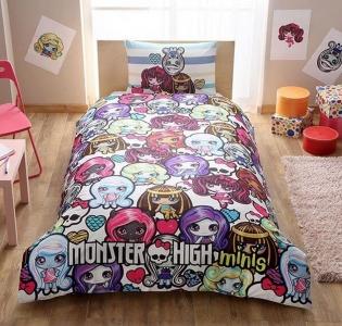 Подростковый постельный комплект ТМ TAС Monster High Minis