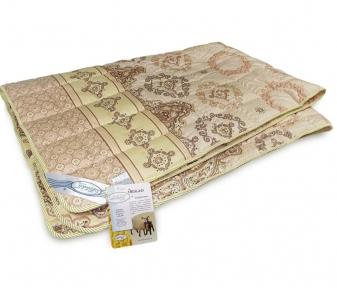 Одеяло межсезонное ТМ Leleka-Textile коричневого цвета