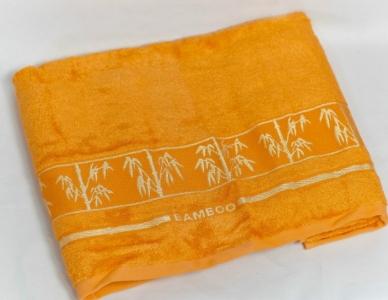 Полотенце ТМ Arya бамбук Bonita горчичный