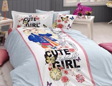 Подростковый постельный комплект ТМ First Choice Cute Girl
