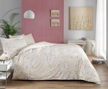Постельное белье ТМ TAC сатин Flora Tas евро-размер