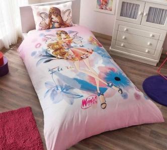Подростковый постельный комплект ТМ TAС Winx Flora