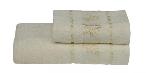 Полотенце ТМ Gursan Bamboo кремовое