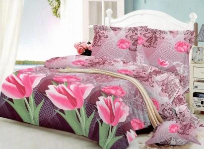 Постельное белье ТМ Nostra поликоттон Rose Tulip