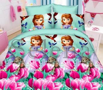 Подростковое постельное белье ТМ Selena ранфорс Принцесса София