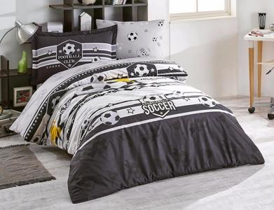 Подростковое постельное белье ТМ Clasy Forza черный