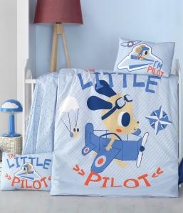 Детский постельный комплект ТМ LightHouse Little Pilot