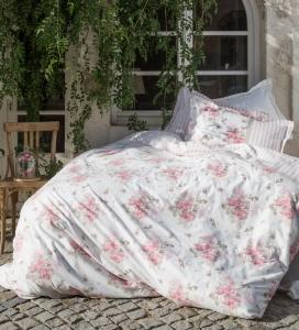 Постельное бельё ТМ Karaca Home ранфорс Elena розовый
