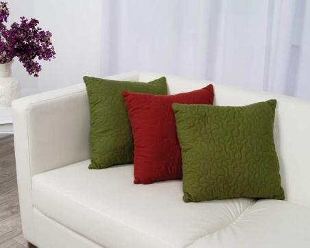 Подушка ТМ Руно декоративная бордовая