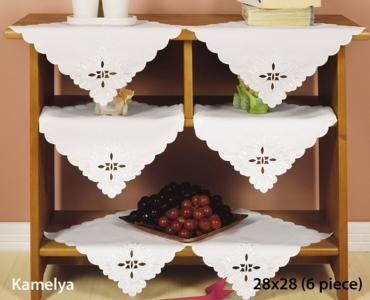 Набор салфеток для дома 6 шт ТМ Arya Kayaoglu Kamelya